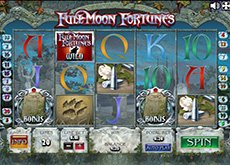 автомат Full Moon Fortunes на деньги